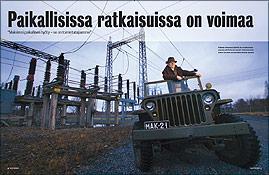 Katternö - Paikallisissa ratkaisuissa on voimaa