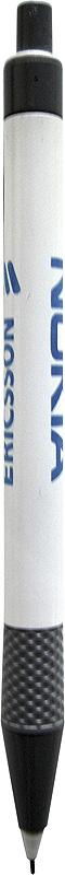Penna med Ericssons och Nokias logotyper
