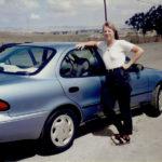 Under en månad arbetade jag med reportage i Kalifornien, medan Angela studerade skolor. Givetvis gjorde vi en tur längs Highway 1 mellan Los Angeles och San Francisco. Första gången jag körde en automatväxlad bil.
