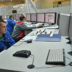 Kontrollrummet testas för den nyaste kärnkraftsreaktorn i Novovoronezj, Ryssland, med nummer sex, i kommersiell drift i augusti 2016.