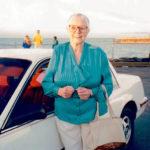 Hilda Björkman, född i Björköby, Österbotten, emigrerade till San Francisco i unga år. Jag intervjuade henne om hennes liv. En tuff kvinna som körde sin Buick genom San Franciscos kaos utan att blinka.