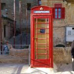 Nostalgisk kiosk för en telefontekniknörd som mig, Malta.