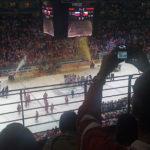 Idrott på toppnivå kan intressera mig. VM-finalen i ishockey i Köln 2010 var tyvärr medioker. Tjeckien har precis vunnit finalen med 2-1.
