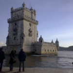 Belémtornet i sengotisk stil i Lissabon tilltalar sagoberättaren i mig.